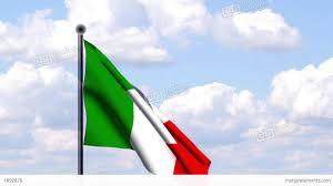 Flag Italy Animated Flag Of Italy Italien Stock Animation 1892878
