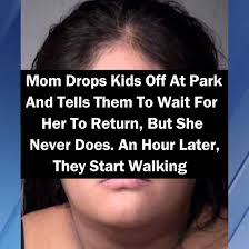 drops at park and tells them to wait for to