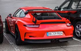 porsche 991 gt3 rs 4 0 porsche 991 gt3 rs looks convincingly awesome in lava orange