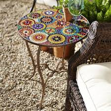 Mosaic Accent Table Elba Mosaic Accent Table Casa Pinterest