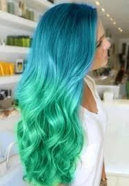of trendy hair color for girls ombre long hairstyle 2017