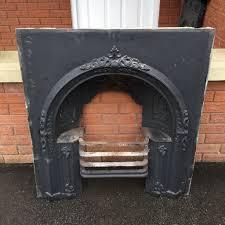 antique cast iron fireplace grate vintage fire place fire surround