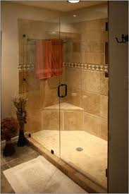 Beautiful Showers Bathroom Honed And Filled Ivory Travertine Is Becoming Increasingly More