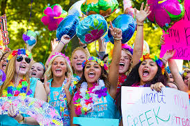sorority bid day themes from a to z