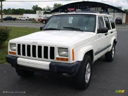 jeep cherokee white 2000 stone white jeep cherokee sport 4x4 16029824 photo 2