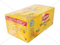 Teh Lipton lipton tea bag 50s x 2gm fauzul enterprise