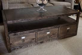 Wood End Table Plans Free by 17 Free Plans To Build A New Coffee Table