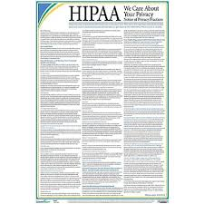 complyright hipaa notice of privacy practices poster staples