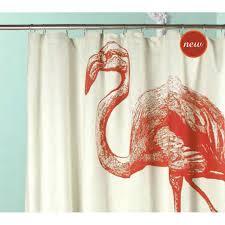 Flamingo Shower Curtains Flamingo Shower Curtain