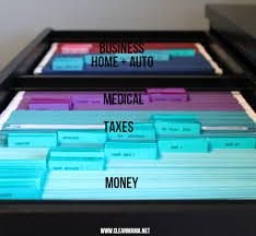 Filing Cabinets For The Home Simplify The Season Organize Your Paperwork Clean Mama File