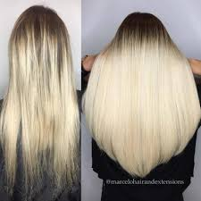 permanent hair extensions keratin tip great lengths hair extensions cold fusion bonded hair