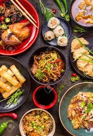 jeux de cuisine chinoise assortiment de jeu de la nourriture chinoise nouilles chinoises