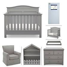 Grey Nursery Furniture Sets Serta Barrett 7 Nursery Furniture Set With Free