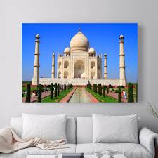 world of wonders home decor online get cheap taj mahal painting aliexpress com alibaba group