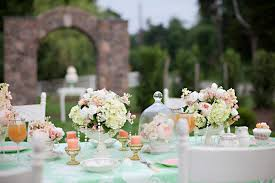 wedding table decoration garden wedding inspiration united with