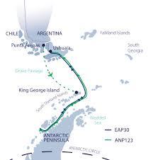Map Of Antarctica Spirit Of Antarctica