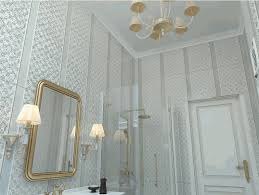 Gold Bathroom Vanity Lights by To Da Loos Grey And White And Gold Bathroom With European Flair