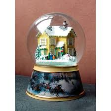 100 best kinkade snow globes images on snow