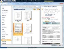 Microsoft Word 2007 Resume Template Download How To Find The Resume Template In Microsoft Word 2007