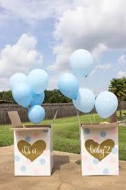 gender reveal balloons kara s party ideas social gender reveal party kara s