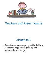 Hallway Pass Non Assertive Teacher Assertive Teacher And Hostile Teacher