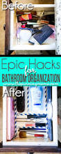 bathroom organizing ideas 5 crazy easy hacks to keep your bathroom organized the pinning mama