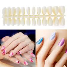 600pcs nail art false tips acrylic artificial full cover natural