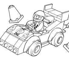 45 dessins de coloriage lego city à imprimer