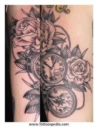Feminine Clock - feminine clock pictures to pin on tattooskid