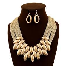 fashion long gold necklace images 2018 gold jewellery set unique twisted rope necklace long tassel jpg