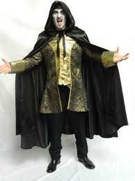 bespoke theatrical quality halloween and goth fancy dress costume