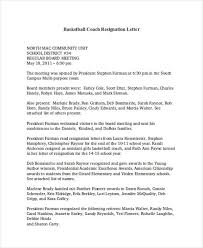 example resignation letter printable sample letter of resignation