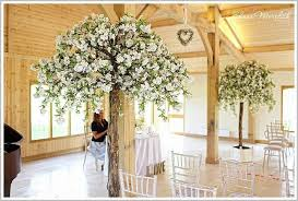 wedding trees wedding blossom trees brides helper