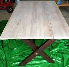 How To Color Wash Wood - 3 ways to whitewash furniture wikihow