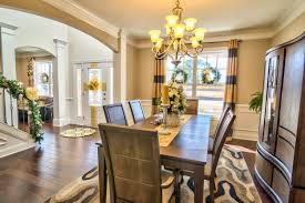 springfield model home dining room larkin woods pinterest