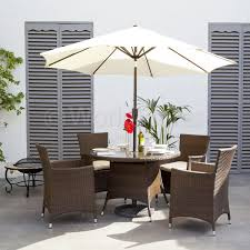 garden furniture with parasol interior design