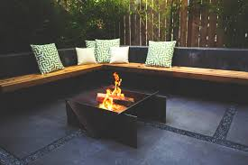 Patio And Firepit by Stahl Firepit