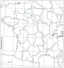 Map Of Middle East Blank by Outline Map Of France French Rivers Regions Parallels And
