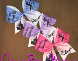 personalized bows competition cheer bows practice bows more by cheerbowmama
