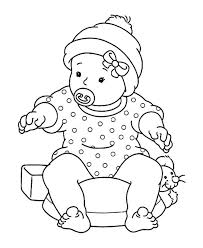 baby doll coloring pages 6098