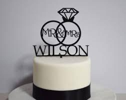 ring cake topper ring cake topper etsy