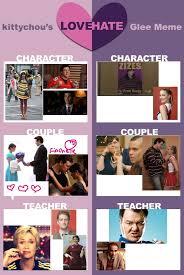 Glee Memes - glee meme love hate by kcullen9597 on deviantart