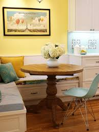 kitchen design ideas chic kitchen banquette table with tulip