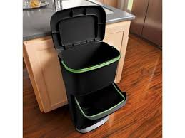 6 functional options of trash cans for your kitchen interior design