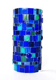 blue mosaic table lamp best inspiration for table lamp