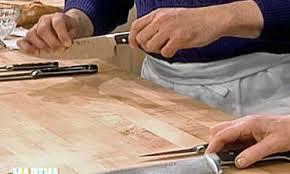 essential kitchen knives 3 essential kitchen knives martha stewart
