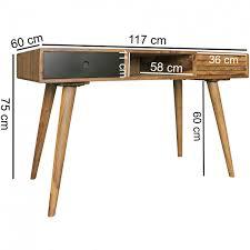 Schreibtisch Arbeitstisch Finebuy Schreibtisch 120 X 60 X 75 Cm Massiv Holz Laptoptisch