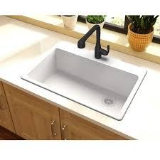 33 by 22 kitchen sink quartz classic 33 x 22 top mount kitchen sink reviews allmodern