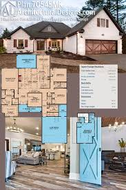 architectural designs house plan 70545mk has a brick exterior and