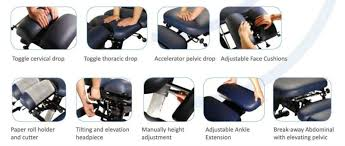 portable chiropractic drop table china mt iron 280 chiropractic table bed high quality mt iron